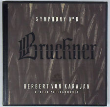 KARAJAN Bruckner Symphony No. 8 ANGEL 3576 B (2-LP) Box Set NM!