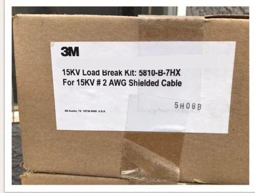 3M 5810-B-7HX 15kV Industrial Loadbreak Elbow Connector