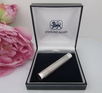 Sterling Silver Needle Case - With Presentation Gift Box