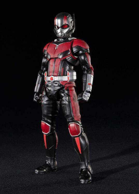 S.H Figuarts Ant Man Set Figure Bandai Infinity War Thanos Iron Man Spider Wasp