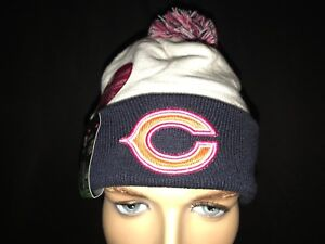 91365c0a8e2 New Era Chicago Bear s Beanie Skully BCA Breast Cancer Awareness ...