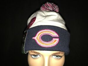 7e7609a33 New Era Chicago Bear s Beanie Skully BCA Breast Cancer Awareness ...