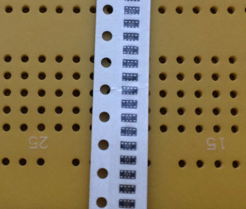 68 100 Ohms 0804 SMD 4 Isolated Resistor Array Convex Surface Mount 0.125W