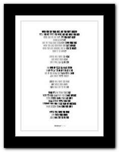 COLDPLAY-Fix-You-song-lyrics-poster-art-limited-edition-typography-print-8