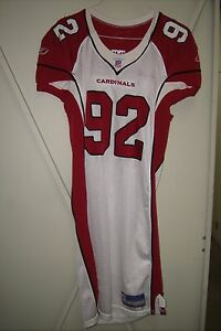 arizona cardinals game worn jersey