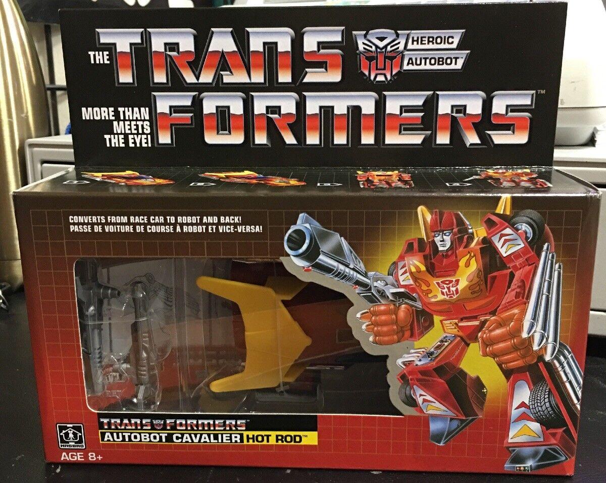Hasbro Transformers Heroic Autobot Cavalier  Hot Rod 2017 SEALED