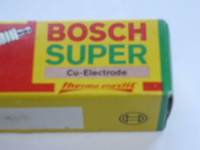 1x original BOSCH WR7DCX SUPER Zündkerze spark plug NEU OVP NOS 0242235530