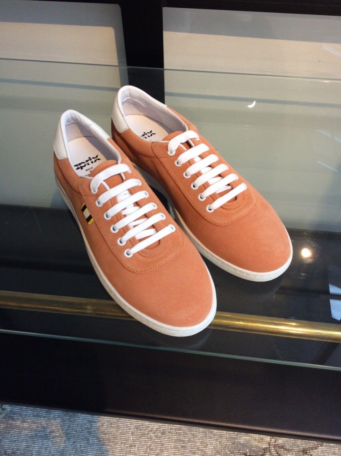 APRIX Turnschuhe Peach Leather Größe 44 new