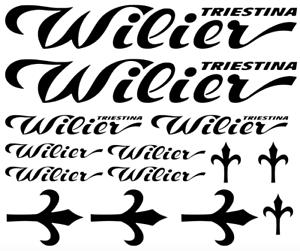 kompatibel Wilier Rennrad Aufkleber Sticker Set