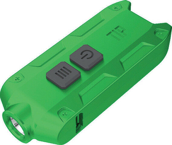 New Nitecore NCTIPGR TIP Keychain Light Green