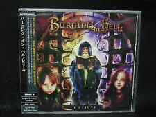BURNING IN HELL Believe + 1 JAPAN CD Circle II Circle Almah Seduced By Suicide