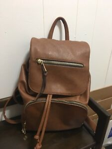 f839cbd14e5 Image is loading Perfect-Condition-Aldo-Backpack-Brown
