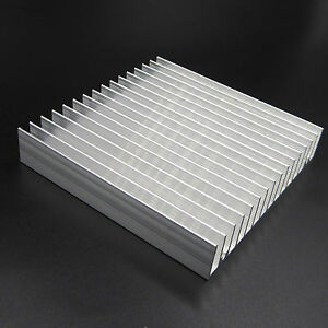 100x100x18mm-Aluminum-HeatSink-for-Chip-CPU-LED-IC-radiator-COOLER-Cooling