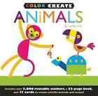 Color Create: Animals by Jenny Broom (Hardback, 2012)