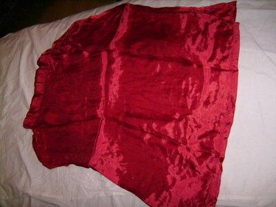 Frank Vintage Fasching Oberteil Rot Original 1960er Jahre Kleidung Guter Zustand Schnelle Farbe