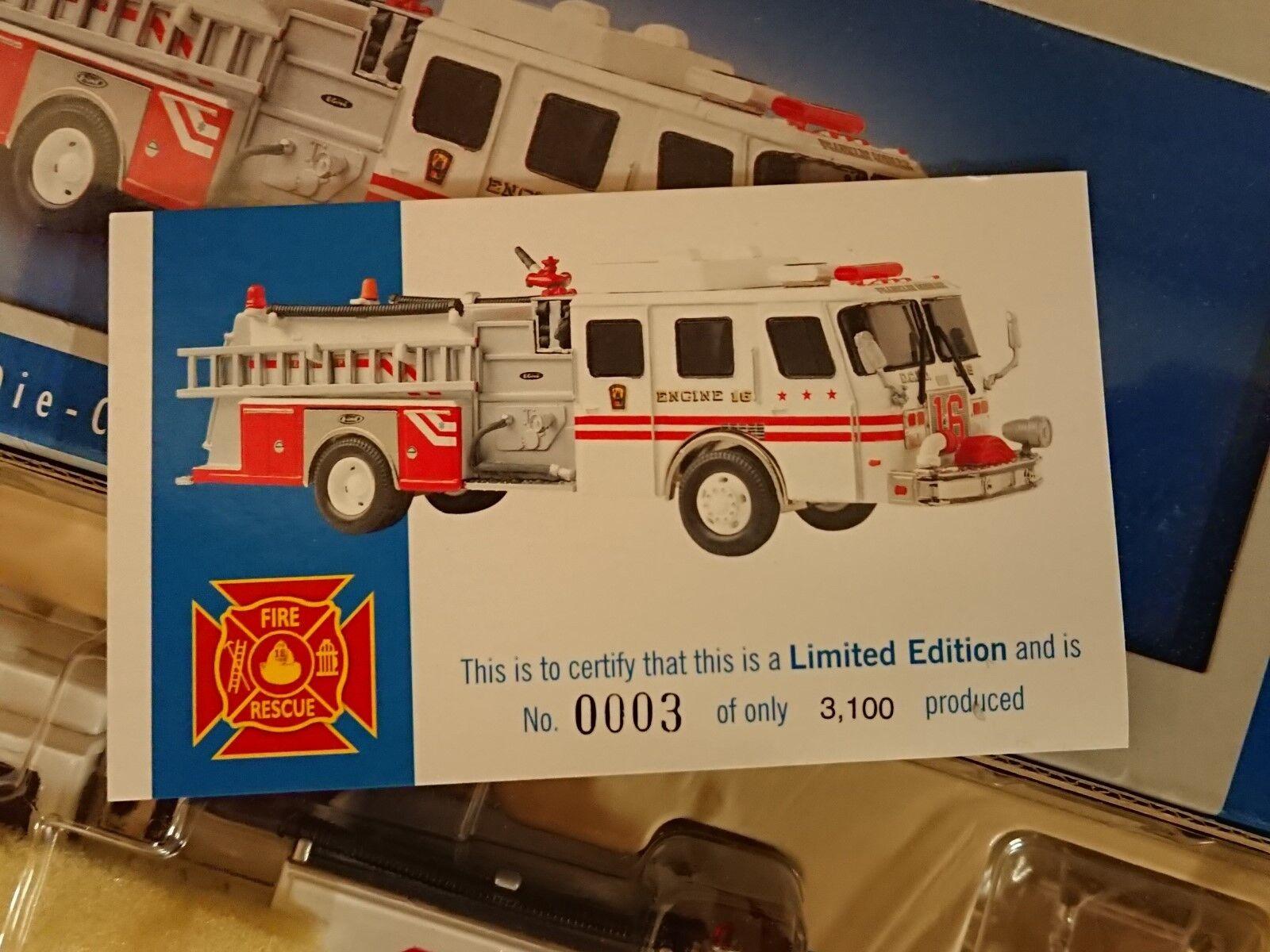 Corgi 54706 E-un lado montaje montaje montaje Fire Tender Washington D.C. Ltd Ed No 0003 de 3100 27227b