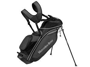 Genuine mercedes benz golf stand bag black taylormade for Mercedes benz golf bag