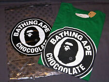 A BATHING APE CHOCOOLAPE BAPE CHOCOOLATE TEE CAP FULL SET GREEN M Original