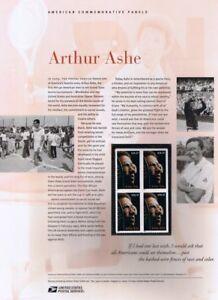 744-37c-Arthur-Ash-Tennis-Star-3936-USPS-Commemorative-Stamp-Panel