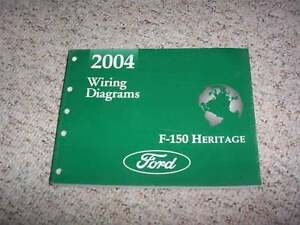2004 Ford F150 Heritage Truck Wiring Diagram Manual XL XLT ...