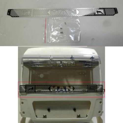 Metal front grill for Tamiya 1//14 Man 540 56325 semitrailer tractor