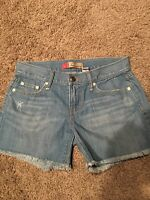 Old navy ultra low waist women's jean shorts size 4