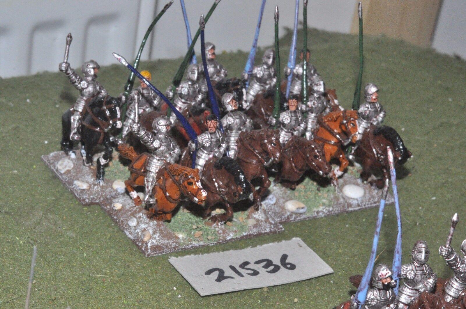 25mm renaissance   imperialist - 12 gendarmes cavalry - cav (21536)
