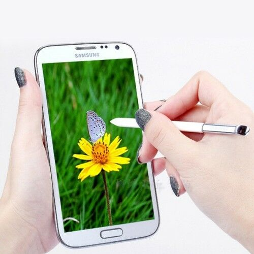 Stylus Pen Samsung Galaxy NOTE 1 Bianco SPen White / Silver Note n7000 NEW