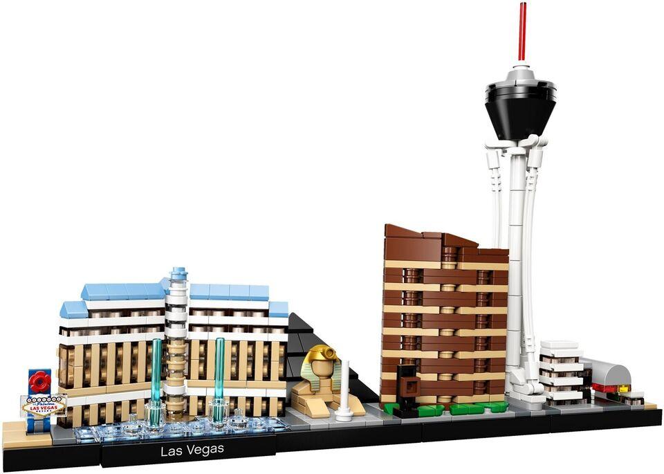 Lego Architecture, 21047 Las Vegas UÅBNET