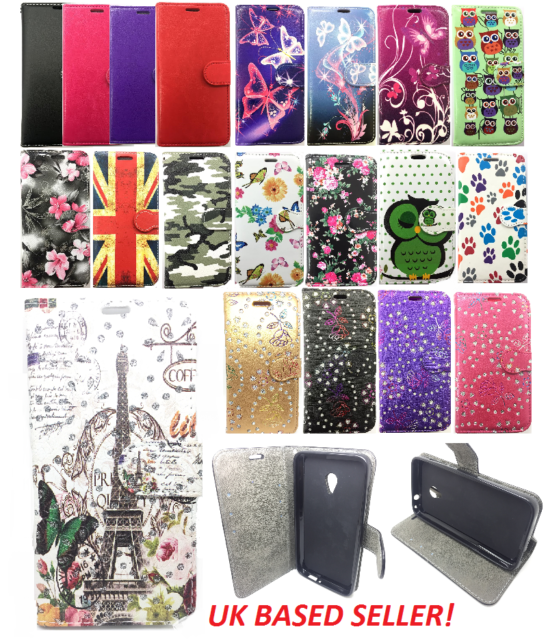 For Sony Xperia M4 Aqua E2303 E2306 E2353 Magnetic Wallet Flip Case Book Cover