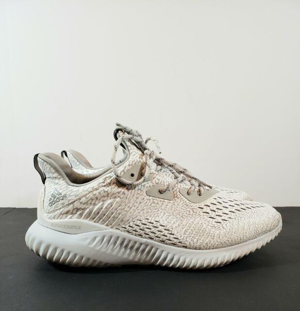 Adidas Mens Alphabounce AMS Aramis Clear Onix Grey BW0427 Size 9