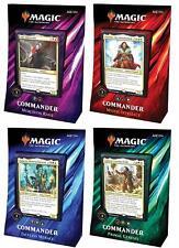 Commander 2019 Set of 4 Decks - Brand New! MTG Magic the Gathering