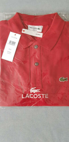 Neues Lacoste Poloshirt Slim Fit OVP Gr.:S