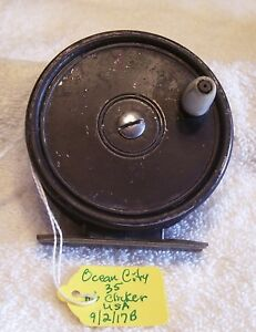 "OCEAN CITY 305 FLY REEL 09/02/17B 3"" X 1-1/8"" NO CLICKER ON THIS MODEL"