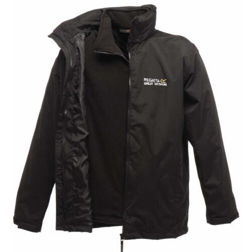 Regatta Mens Classic 3 in 1 Jacket Waterproof Windproof Hydrafort 5000 New Logo