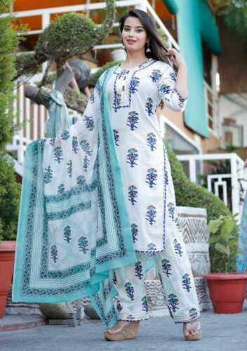 Women Pakistani Stitched Salwar Kameez Designer Dupatta Palazzo Kurta Chunni Top