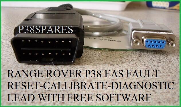 Range Rover P38 94-02 EAS Air Suspension Diagnostic CALIBRATE & Reset