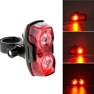 Red-Bike-Bicycle-Cycling-2-LED-3-Mode-Tail-Light-Safety-Flashing-Rear-Lights