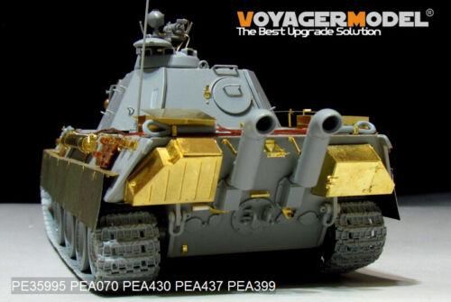Basic Detail Set(For TAKOM 2121 Voyager PE35995 1//35 German Panther G Later ver