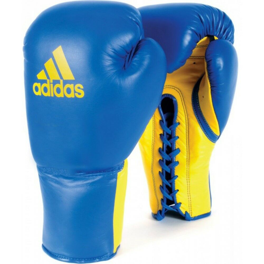 NEW adidas Boxing Leather PRO Glory Lace G s  Professional Boxing G s-blueE  after-sale protection