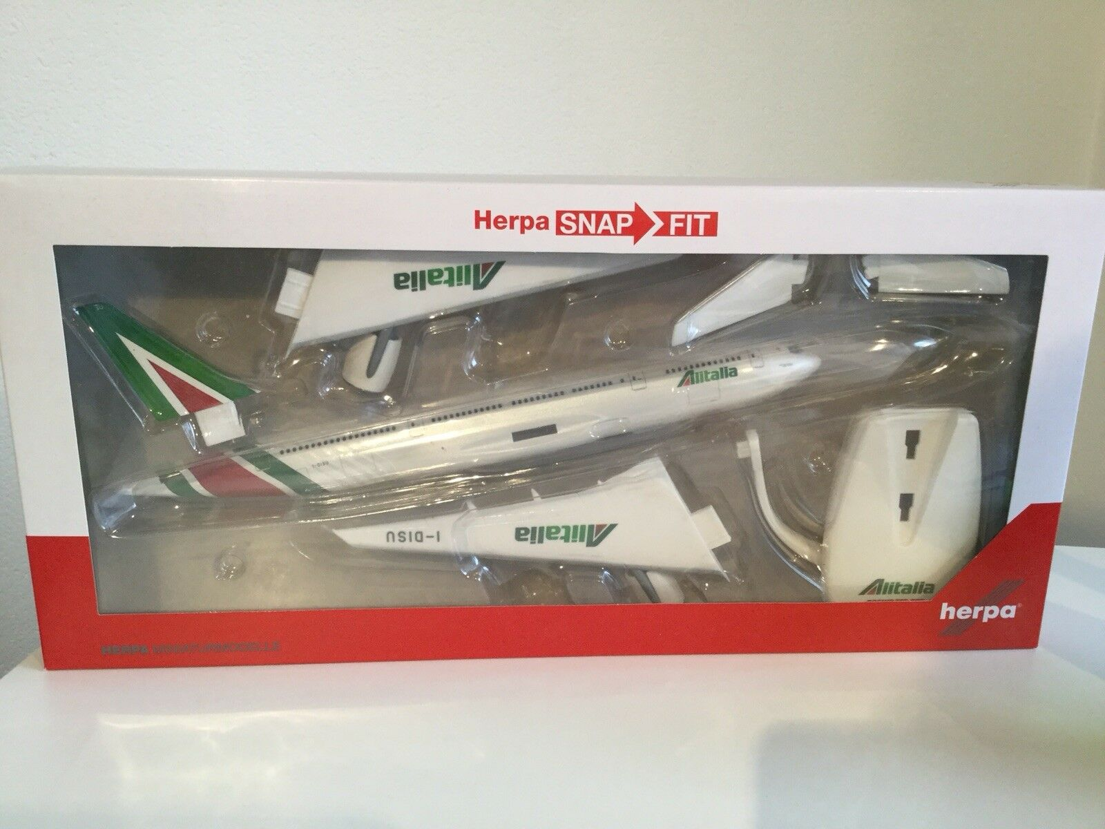 Nouveau ALITALIA ALITALIA ALITALIA avion modèle de HERPA AVION 643033