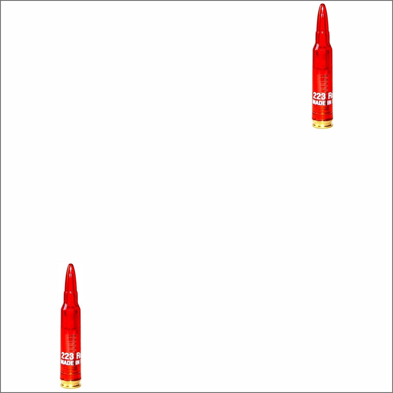 Pufferpatronen .223 Rem Kunststoff // Messing Pufferpatrone 2 St/ück