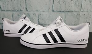 ed6945ac81fdfe Adidas NEO Men s Pace VS Fashion 11 Sneakers Shoes White Black Blue ...