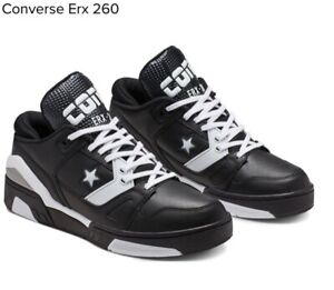 Details about Converse ERX 260 Ox Low Top Black/White-Dolphin Mens Size 7 165045c New