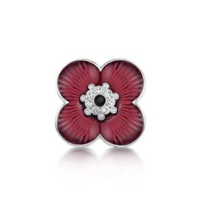Burgundy red poppy flower symbolic brooch coat poppies remembrance image is loading burgundy red poppy flower symbolic brooch coat poppies mightylinksfo