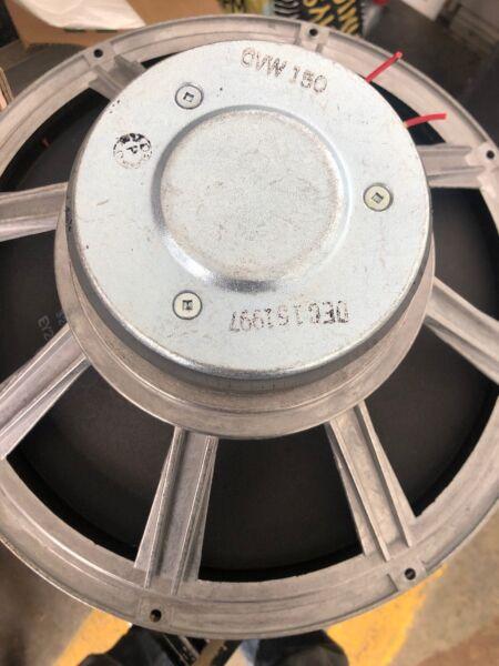 """1 Cerwin Vega Vs-150 Die Cast 15"""" Woofer Speaker Vsw-15 Beroemd Om Hoogwaardige Grondstoffen, Een Breed Scala Aan Specificaties En Formaten, En Een Grote Verscheidenheid Aan Ontwerpen En Kleuren"""
