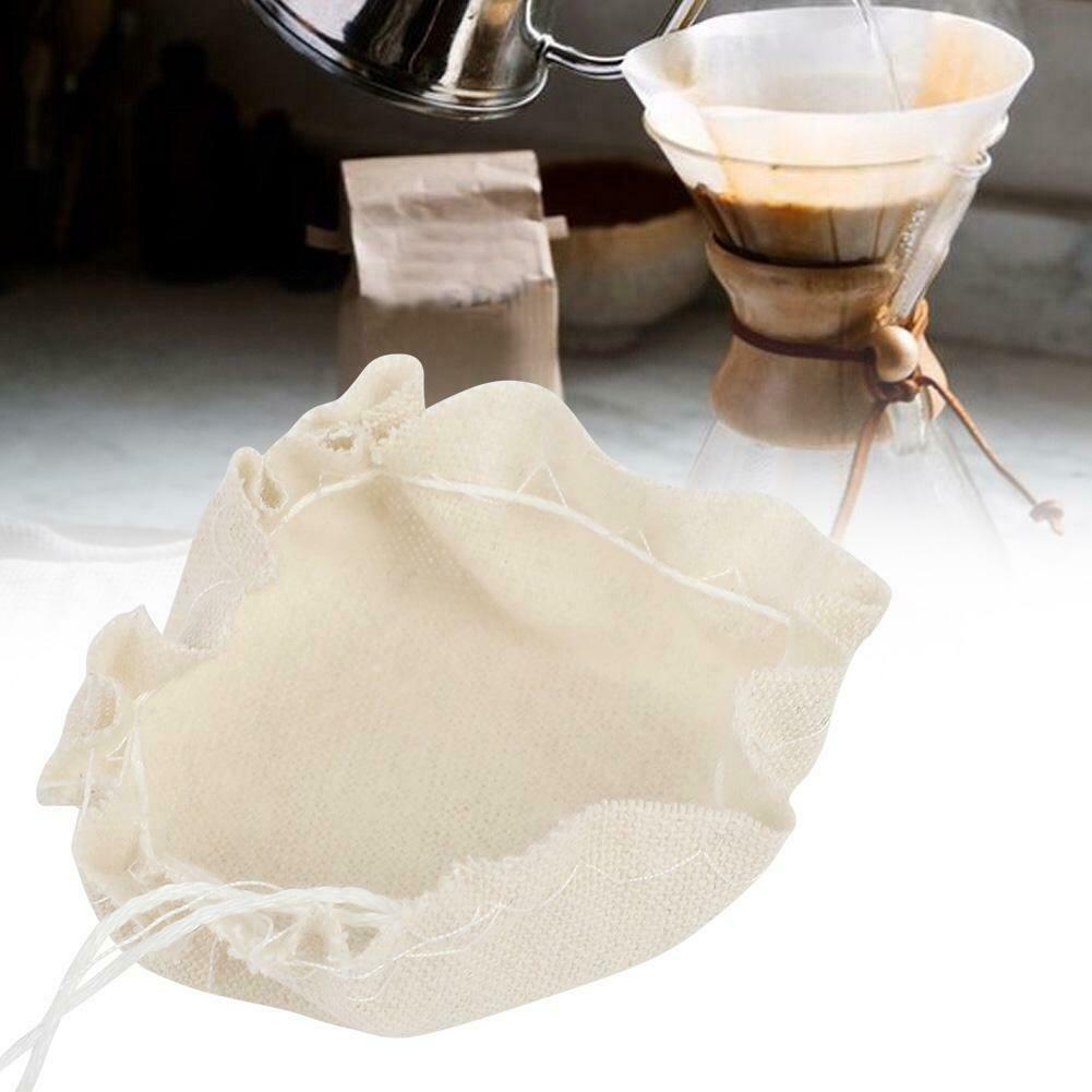 Coffee Filter Siphon Pot Filter Cloth Machine Siphon Coffee Maker Filters Tool#^