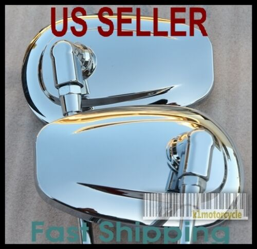 Honda Silver Wing GL500 GL650 Pair Chrome Mirrors Tear Drop ...