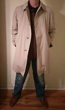 London Fog Maincoats Jacket Trench Coat Beige Men's Sz 42 short