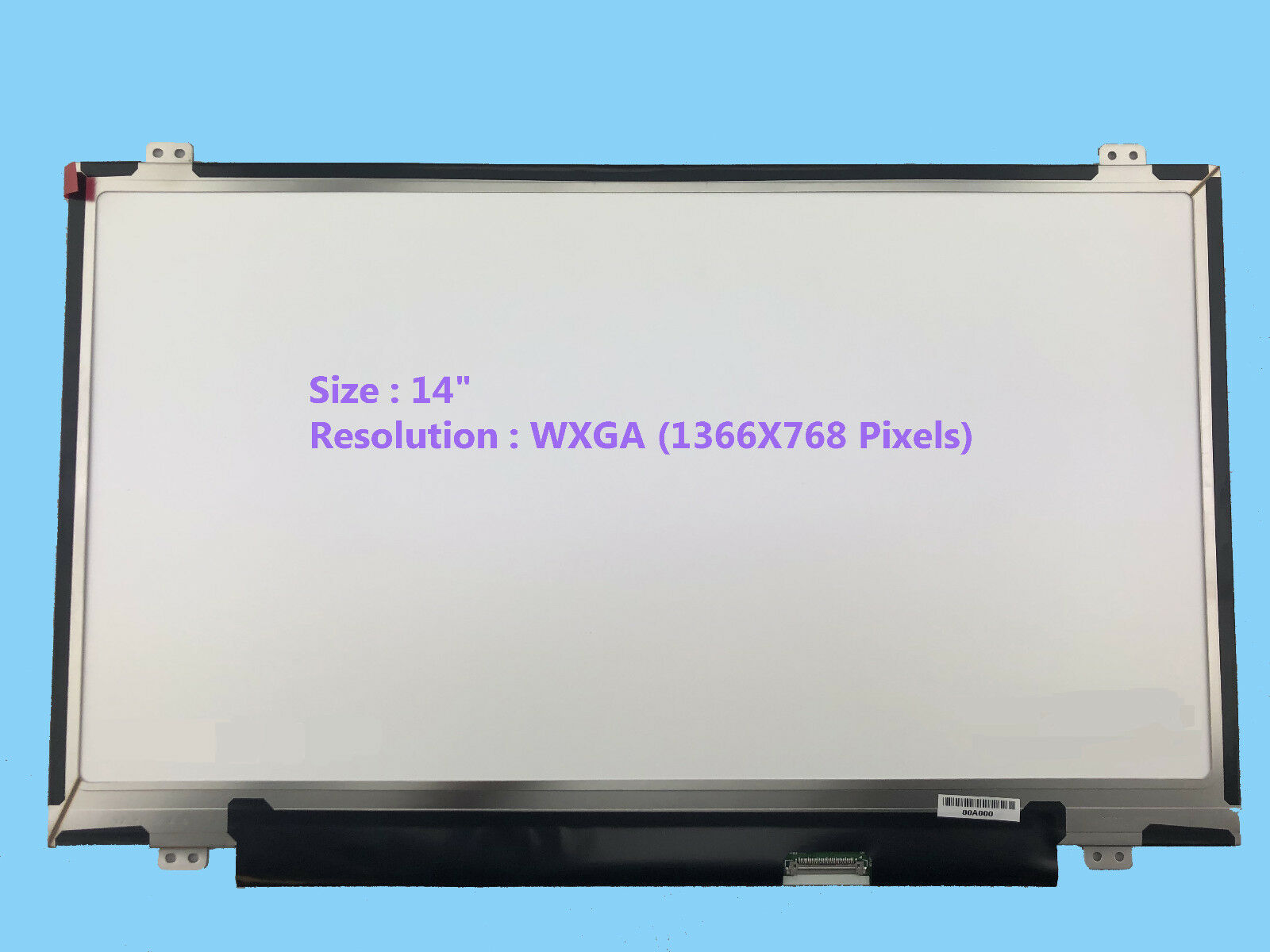 HP SPARE PART number# 814811-001 LED LCD Screen 14